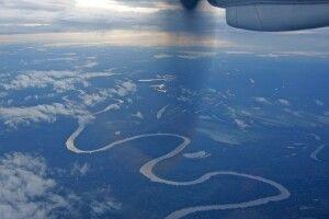 Amazonas von oben