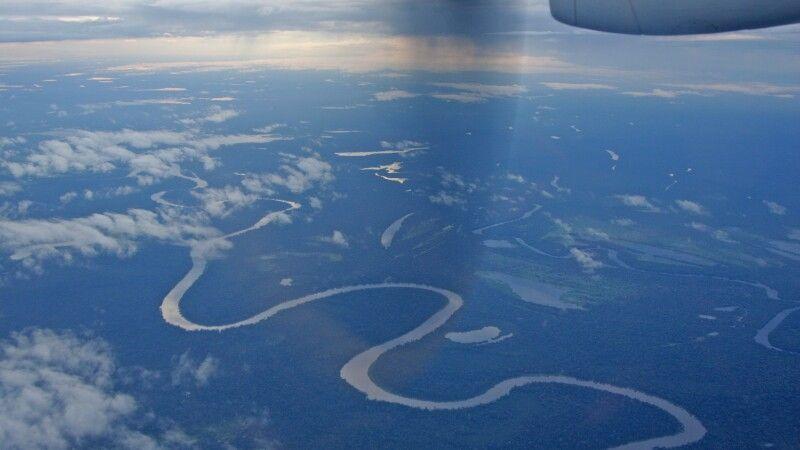 Amazonas von oben © Diamir