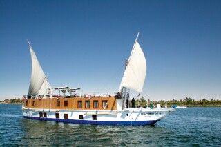 Dhahabiyya auf dem Nil