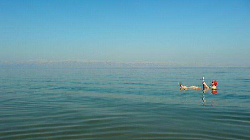 Baden im Toten Meer © Diamir