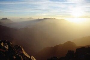 Tourbkal Sonnenaufgang