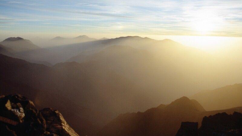 Tourbkal Sonnenaufgang © Diamir