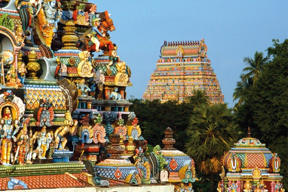 Minakshi-Tempel in Madurai