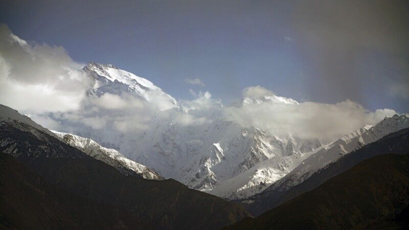 Blick vom Karakorum highway am Nanga Parbat View Point. © Diamir
