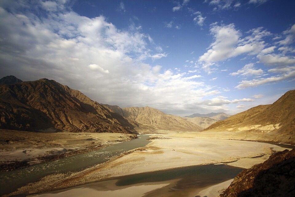 Das Industal bei Chilas wirkt ein wenig wie eine Mondlandschaft.