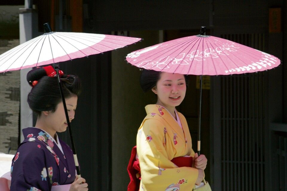 Maikos - Geishas in Ausbildung