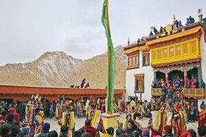 Klosterfest in Ladakh - Kloster Likir