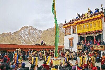 Klosterfest in Ladakh