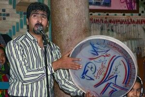 Traditionelle Musik im Teehaus Kerman