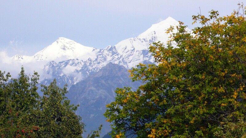 Berg Tednuldi in Swanetien © Diamir