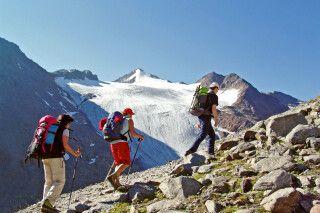 Wanderetappe der Alpenüberquerung