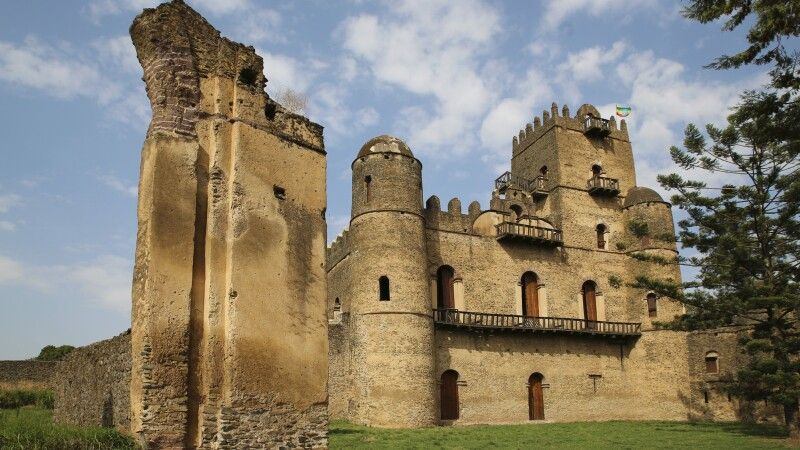 Palast in Gondar © Diamir