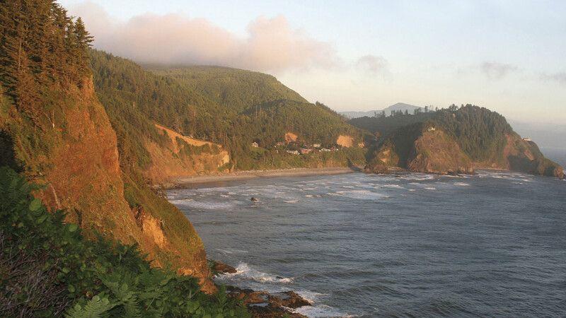 Blick entlang der Küste Oregons © Diamir