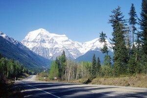 Blick auf den Mt. Robson