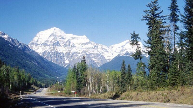 Blick auf den Mt. Robson © Diamir