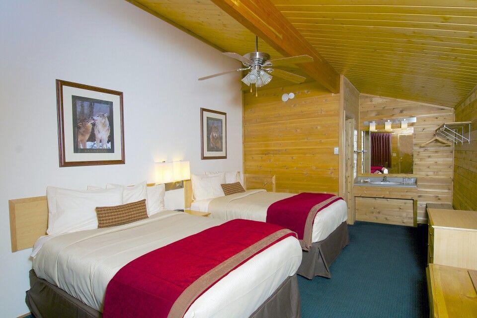 Zimmerbeispiel in der Denali Backcountry Lodge