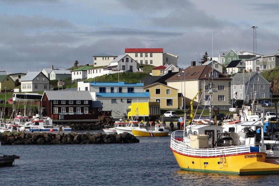 Hafen in Stykkisholmur