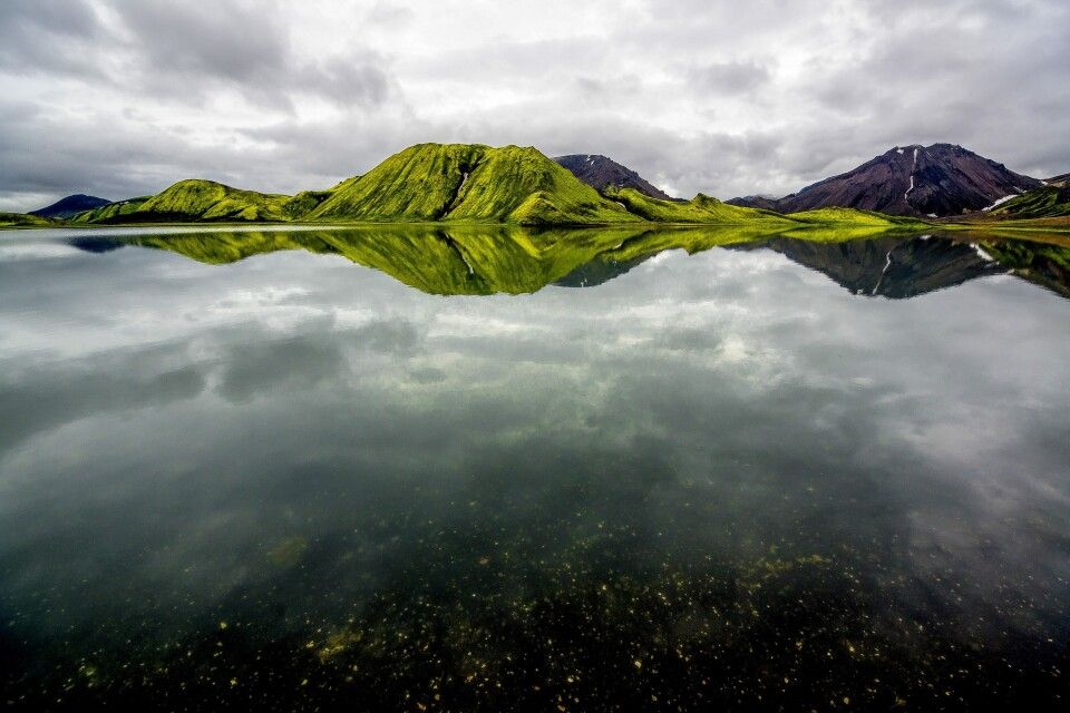Unterwegs in Landmannalaugar