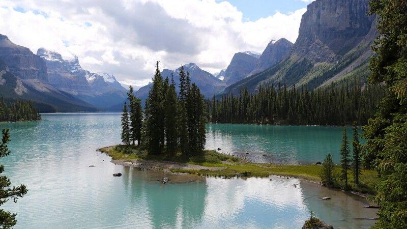 Maligne Lake im Jasper NP © Diamir