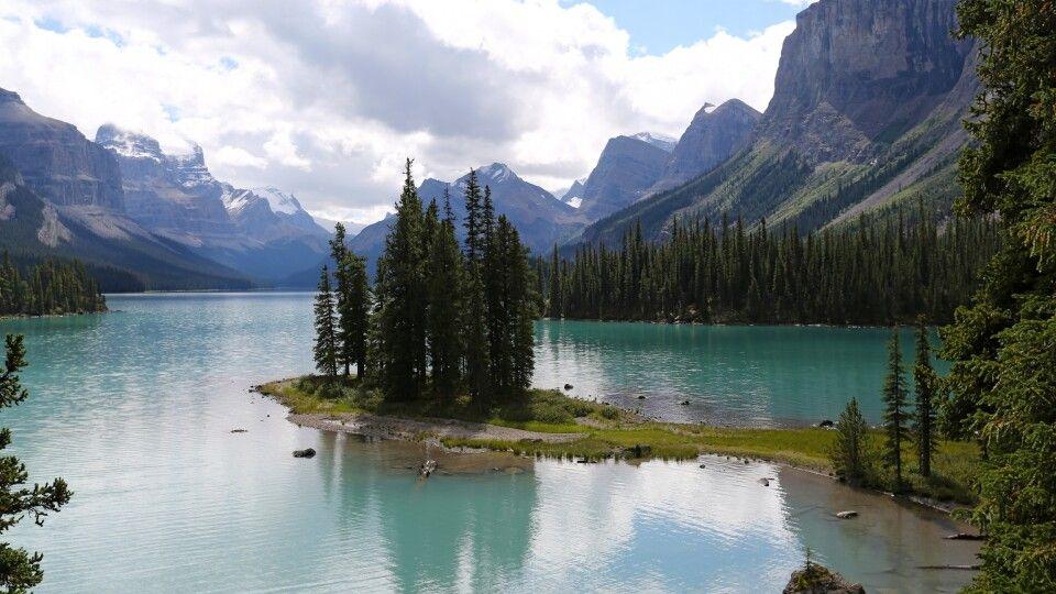 Maligne Lake im Jasper NP