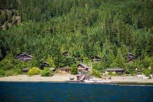 Die idyllische Strathcona Lodge
