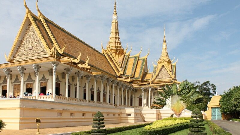 Tempel in Phnom Penh © Diamir