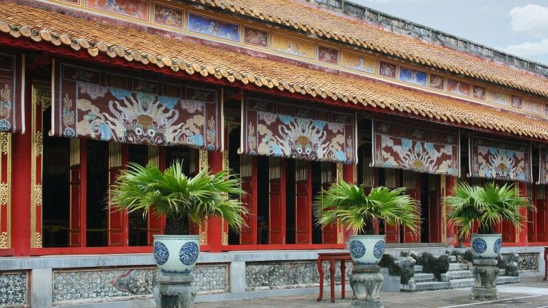 Kaiserpalast in Hue © Diamir