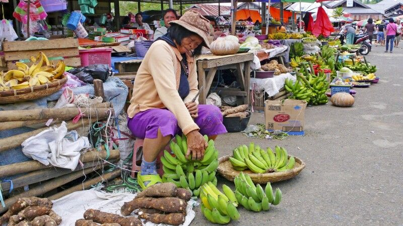 Markt in Manado © Diamir