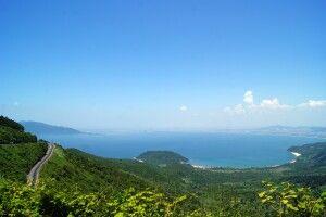 Auf dem Hai-Van-Pass, oder Wolkenpass, der die Grenze zwischen Nord- und Südvietnam bildet