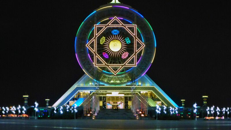 Great Indoor Ferris Wheel © Diamir