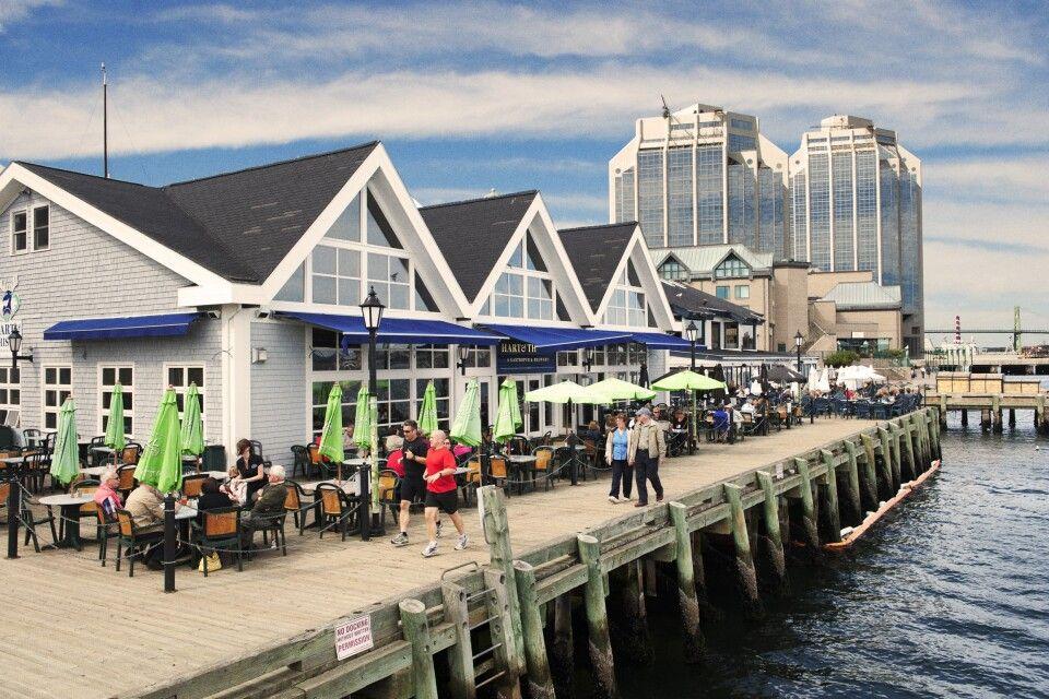 Hafenpromenade in Halifax