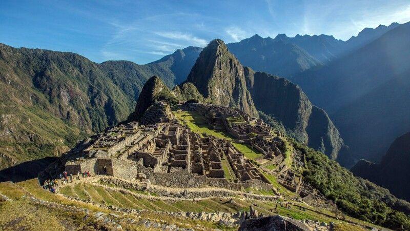 Machu Picchu: Ziel des Salcantay Lodge Treks © Diamir