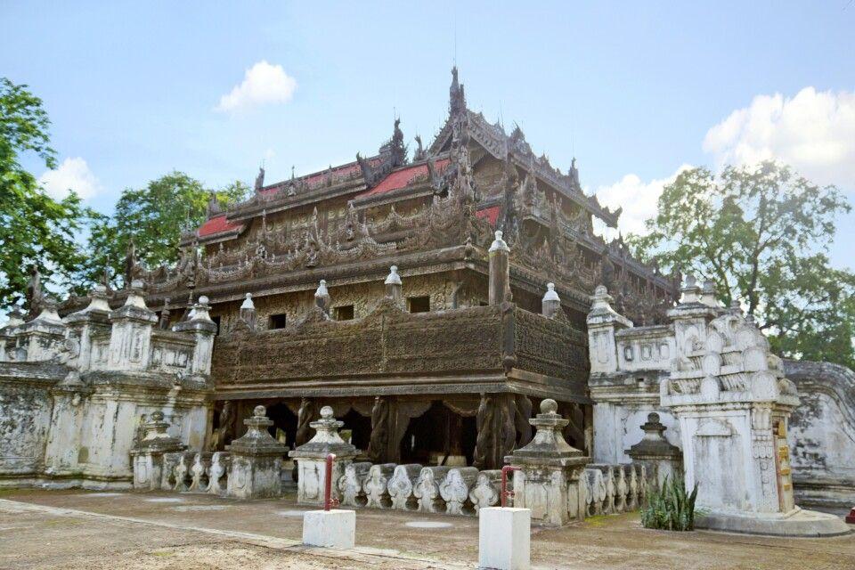 Das Shwenandaw-Kyaung-Kloster – einzig erhaltenes Pallastgebäude in Mandalay