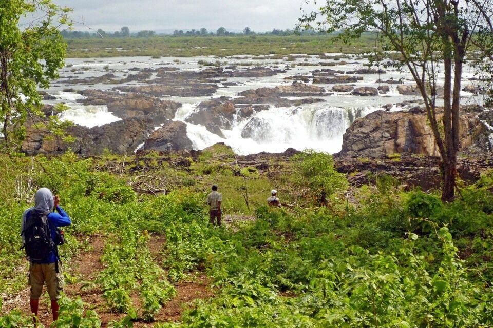 Wasserfall in Stung Treng