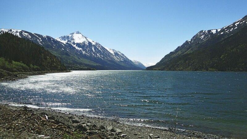 Mit der White Pass & Yukon Route entlang des Lake Bennett © Diamir