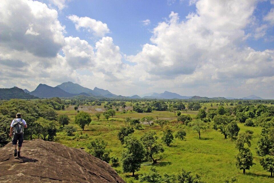 Wanderung in der Umgebung von Sigiriya