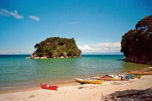 Kayak im Abel-Tasman-Nationalpark