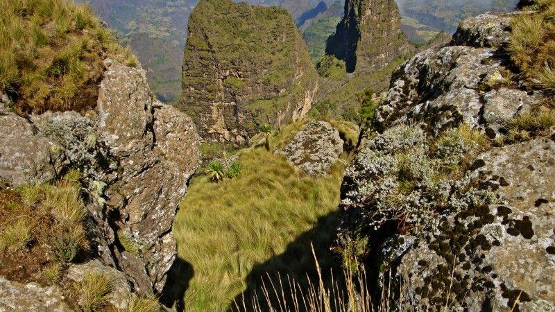 Szenerie in den Semien-Berge © Diamir