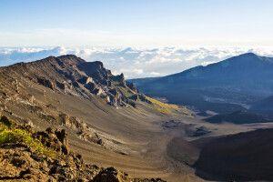 Die spektakulären Krater des Haleakala auf Maui