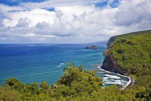 Das Tal Pololu in North Kohala auf Big Island
