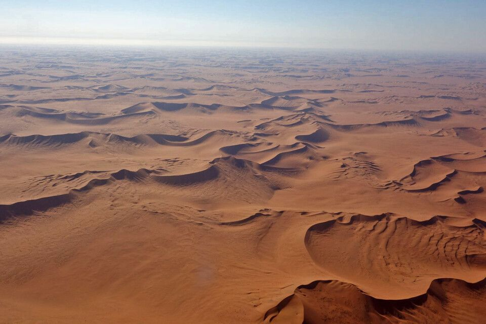 Namib von oben