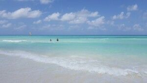 Traumhafte Strandidylle auf der Cayo Santa Maria
