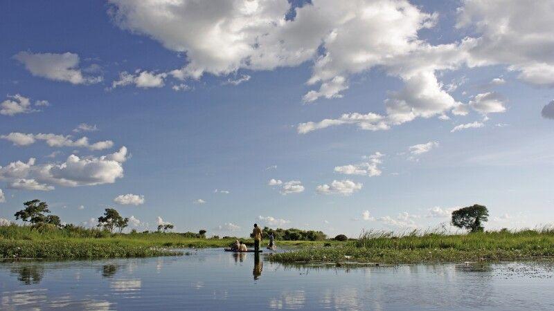 Malerisches Okavango Delta © Diamir