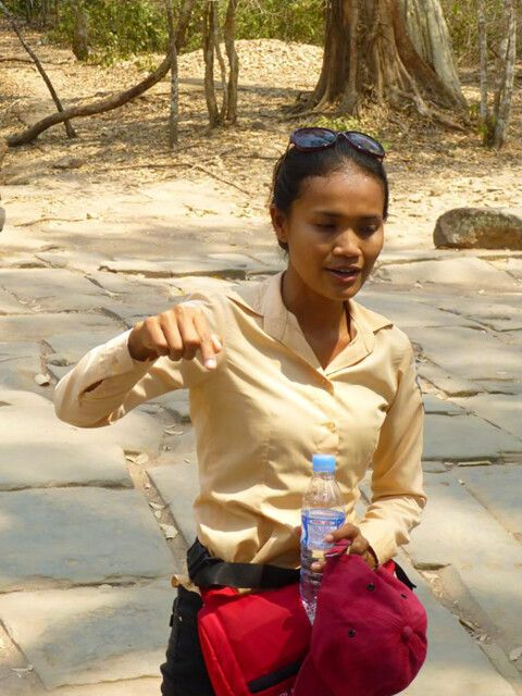 Sokha – die Reiseführerin in Siem Reap