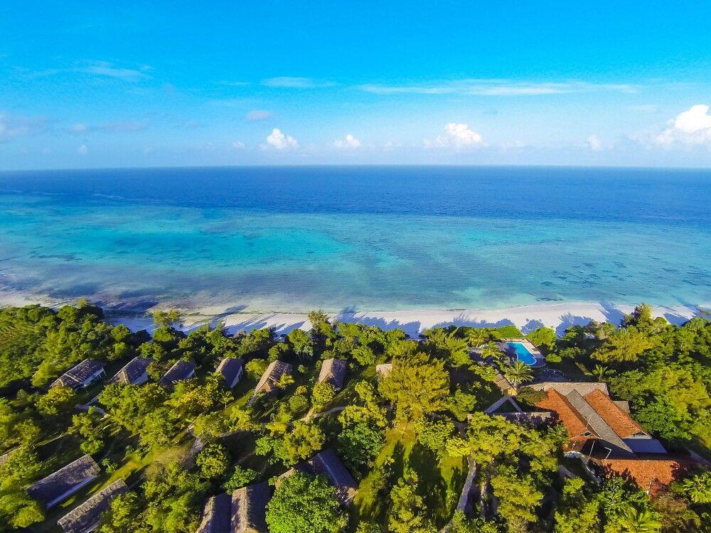 Manta Resort von oben