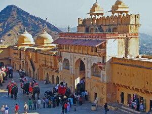 Fort Amber bei Jaipur