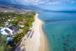 Meerespanorama im Le Nautile beach Hotel