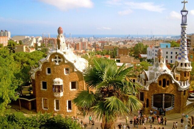 Casa del Guarde und Porters Lodge von Gaudí