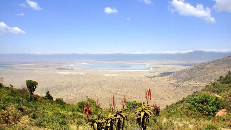 Blick in den Ngorongoro-Krater © Diamir