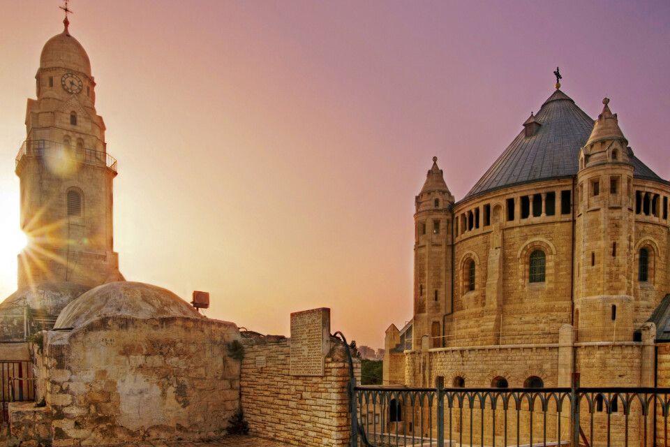 Dormitio-Abtei auf dem Berg Zion in Jerusalem